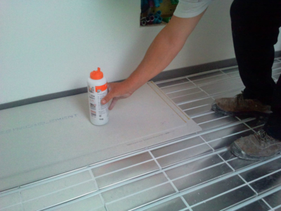 sistemi radianti a pavimento